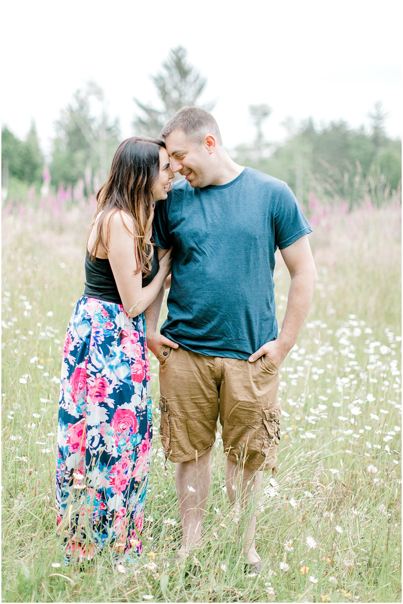 Beautiful Evening Engagement Session on Rose Ranch | Emma Rose Company Seattle and Olympia Wedding and Portrait Photographer | Engagement in Foxglove Field | Flowers | Pacific Northwest Wedding and Elopement Photographer-5.jpg