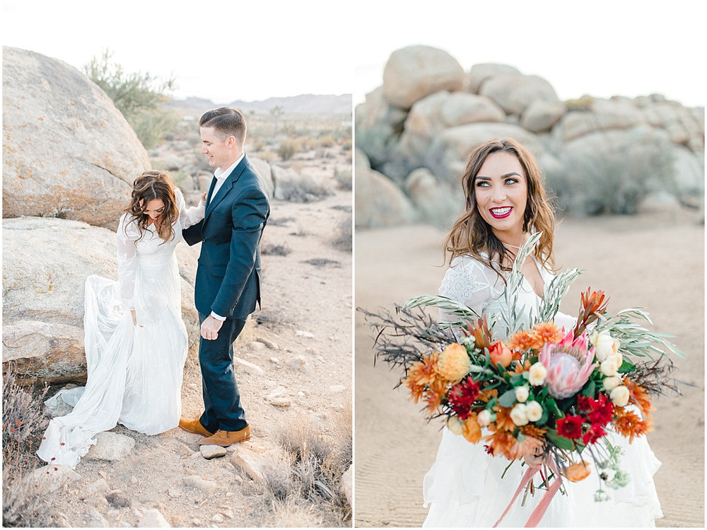The Ruin Venue | Joshua Tree, California | Wedding Inspiration | The Dress Theory Desert Wedding | Emma Rose Company Wedding Photographer | Light and Airy Photographer | Kindred Presets-20.jpg