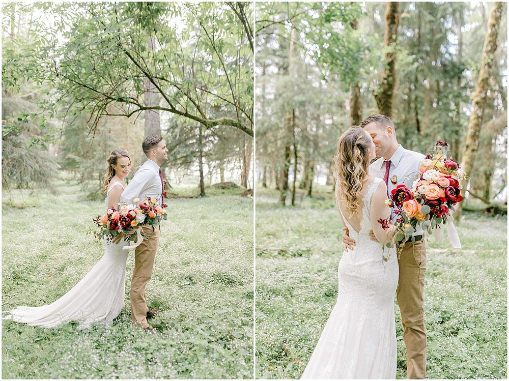 Pacific Northwest Elopement on Rose Ranch | Emma Rose Company Seattle and Portland Wedding Photographer | Engaged | Lace Wedding Gown | Peonie and ranunculus bouquet-6.jpg