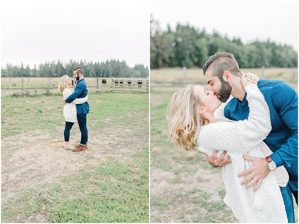 Emma Rose Company | PNW Engagement Session | What to Wear for Pictures | Rose Ranch Engagement | Sunset | Kindred Presets | Seattle Wedding Photographer Light and Airy_0267.jpg