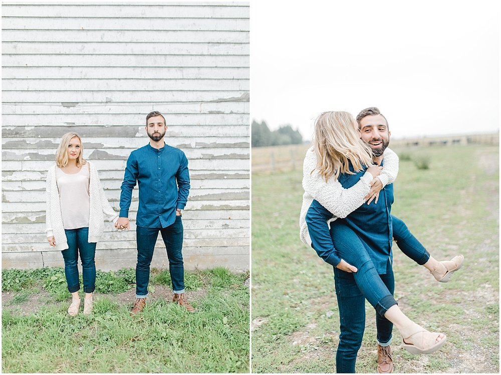 Emma Rose Company | PNW Engagement Session | What to Wear for Pictures | Rose Ranch Engagement | Sunset | Kindred Presets | Seattle Wedding Photographer Light and Airy_0277.jpg