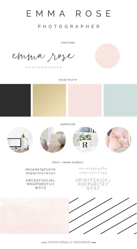 Emma Rose Company Website Launch | Squarespace Website Designer For Photographers | A Branding Journey Emma Rose Photographer Brand Inspiration Board.jpg