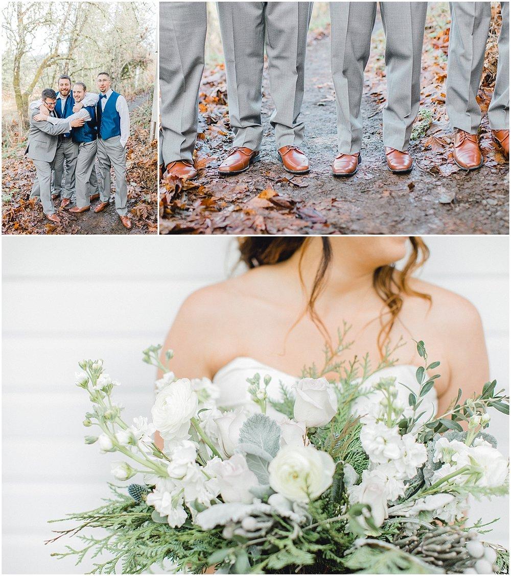 Chehalis Washington Winter Wedding Silver and White | Willapa Hills Farm Wedding | Eastham | Emma Rose Company PNW Light and Airy Wedding Photographer_0016.jpg