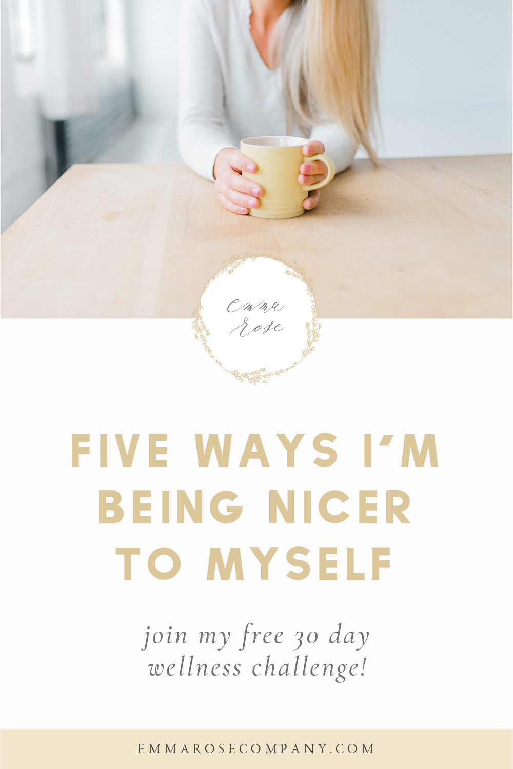 Can we be perfectly honest in saying that running your own business is really hard!  It's amazing, but holds plenty of challenges.  It's important to be nice to yourself along the way through self-care, self-love, and remembering to slow down and rest.  I've put together this post to help you find more #balance and #meaning in your own life.  Feel free to join my 30 day wellness challenge you'll find within the post!  #wellnesschallenge #liveyourbestlife