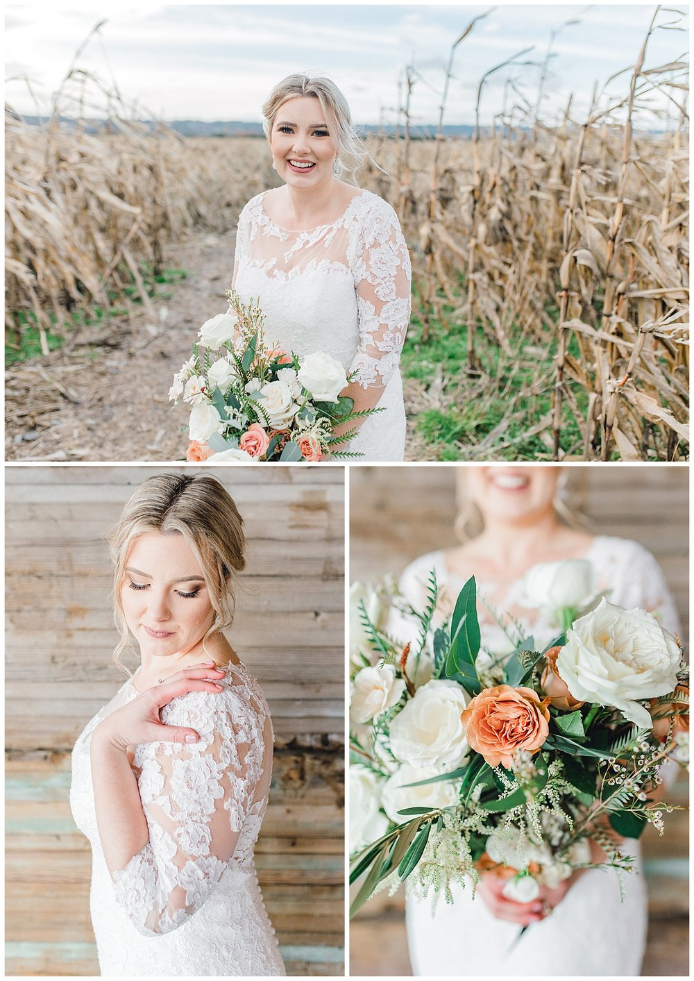 ERC-7623_A beautiful winter wedding in Snohomish, Washington at Thomas Family Farm was simply perfect.  This rustic and modern styled wedding was dripping with romance and photographed by Emma Rose Company, a pacific northwest wedding photographer..jpg