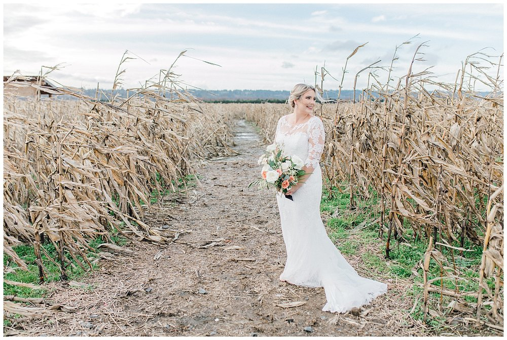 ERC-7637_A beautiful winter wedding in Snohomish, Washington at Thomas Family Farm was simply perfect.  This rustic and modern styled wedding was dripping with romance and photographed by Emma Rose Company, a pacific northwest wedding photographer..jpg