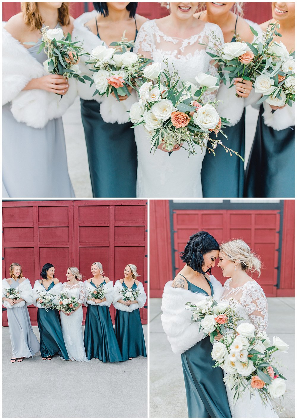 ERC-7708_A beautiful winter wedding in Snohomish, Washington at Thomas Family Farm was simply perfect.  This rustic and modern styled wedding was dripping with romance and photographed by Emma Rose Company, a pacific northwest wedding photographer..jpg