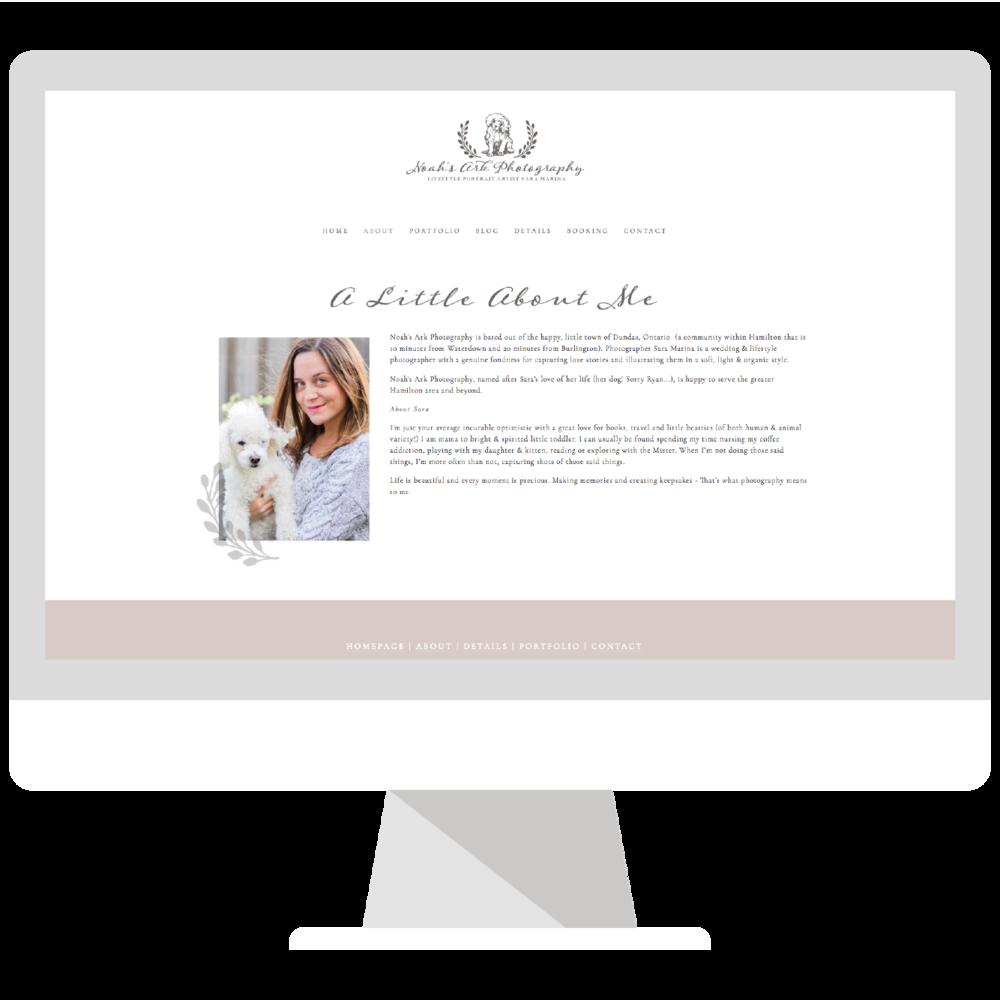 Emma Rose Company | Squarespace Website Designer for Photographer and Seattle Wedding and Portrait Photographer | Acorns