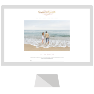Rachel Elizabeth Photography is a wedding and portrait photographer based in Nantuckett, MA and hired Emma Rose Company for a custom Squarespace website design.  Mauve branding was implemented to best highlight her photography business1.png