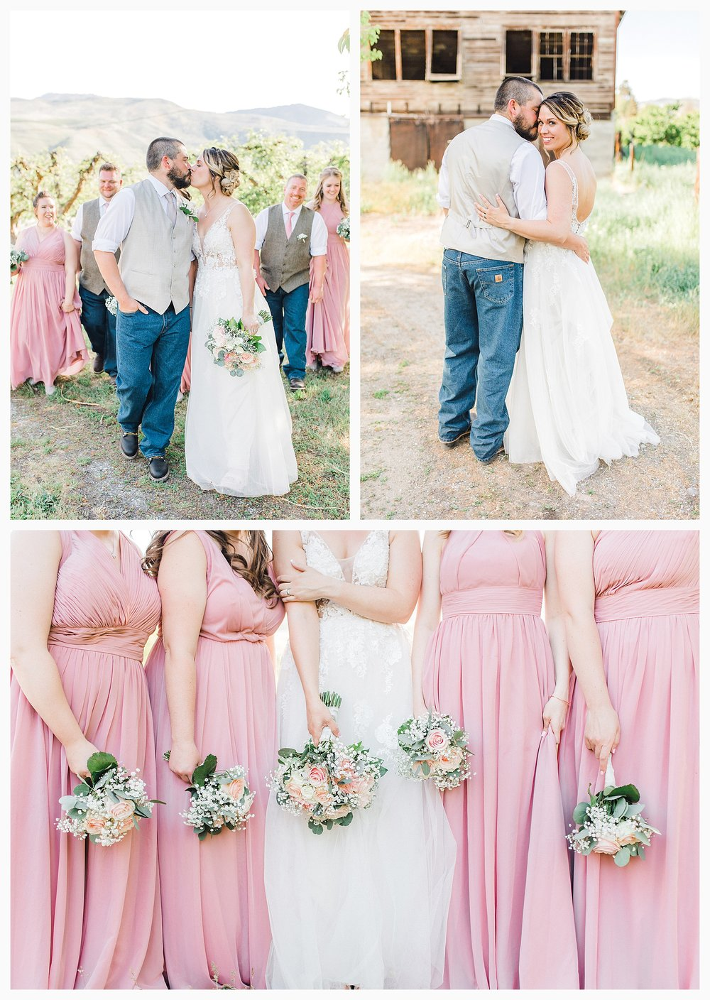 Rustic barn wedding in Wenatchee Washington at Sunshine Ranch on Easy Street, Emma Rose Company Seattle PNW Light and Airy Wedding Photographer_0085.jpg