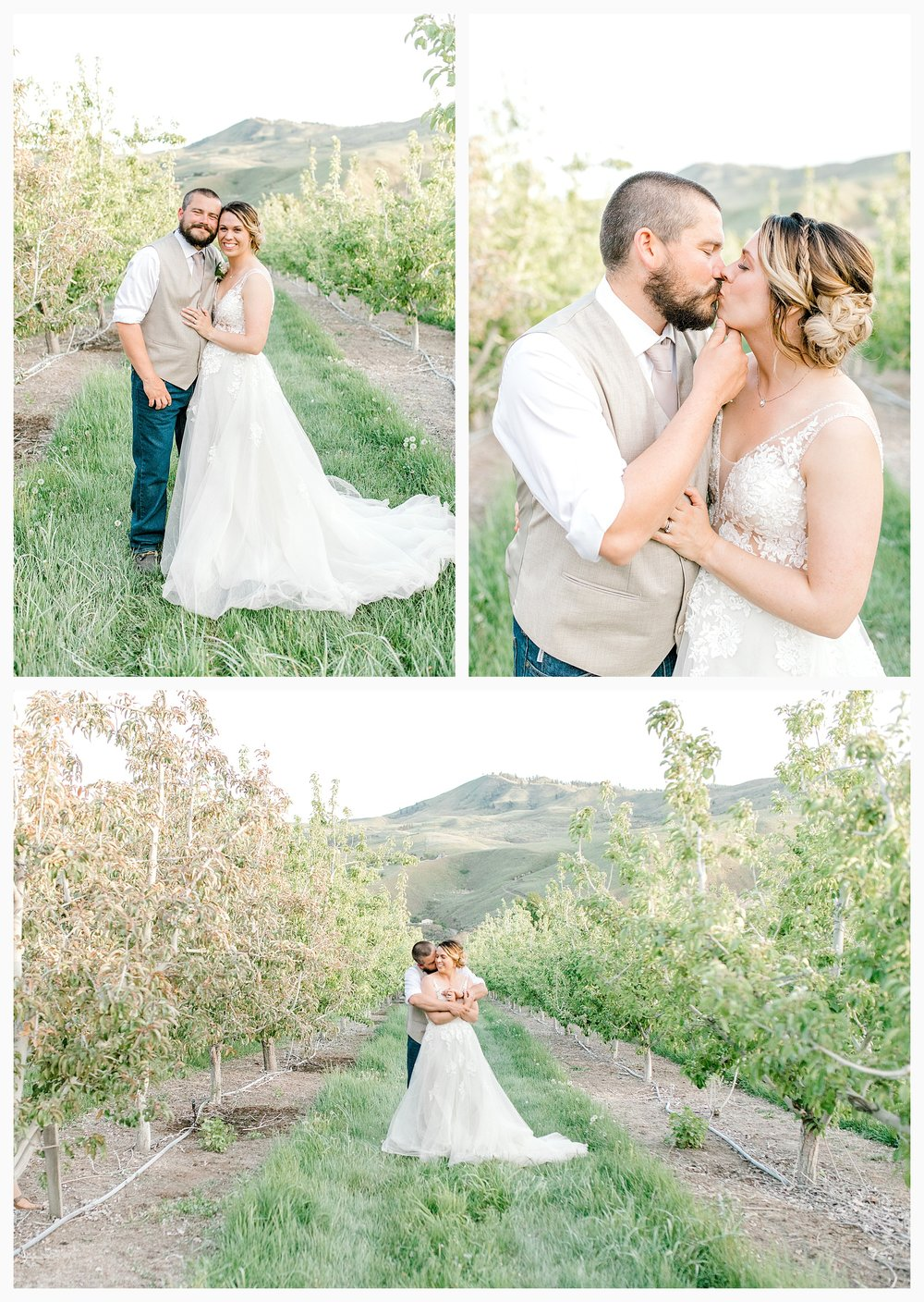 Rustic barn wedding in Wenatchee Washington at Sunshine Ranch on Easy Street, Emma Rose Company Seattle PNW Light and Airy Wedding Photographer_0133.jpg