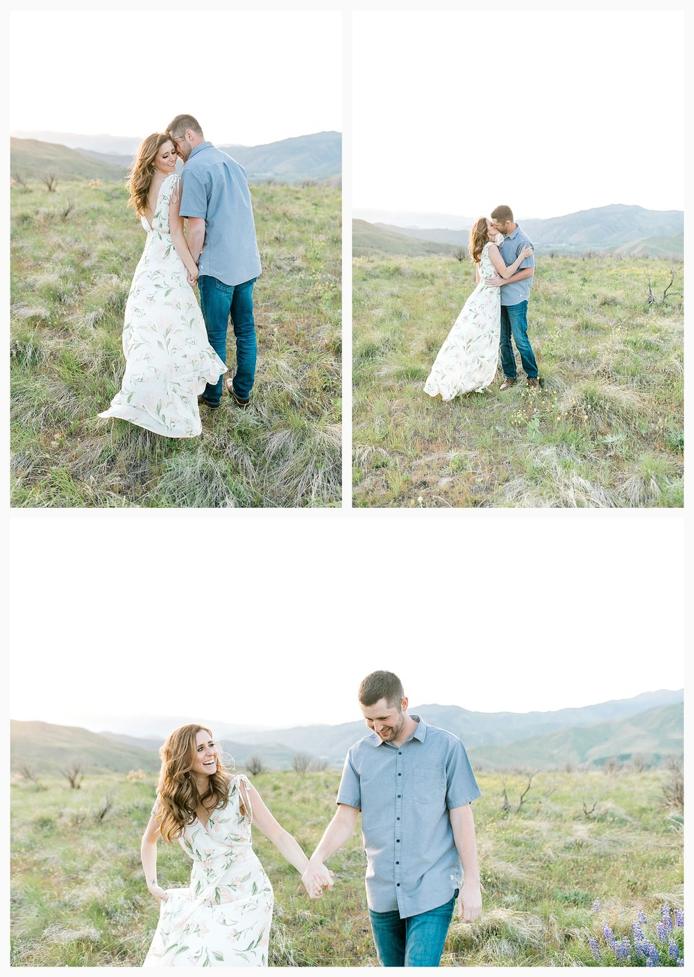Engagement session amongst the wildflowers in Wenatchee, Washington | Engagement Session Outfit Inspiration for Wedding Photography with Emma Rose Company | Light and Airy PNW Photographer, Seattle Bride_0034.jpg
