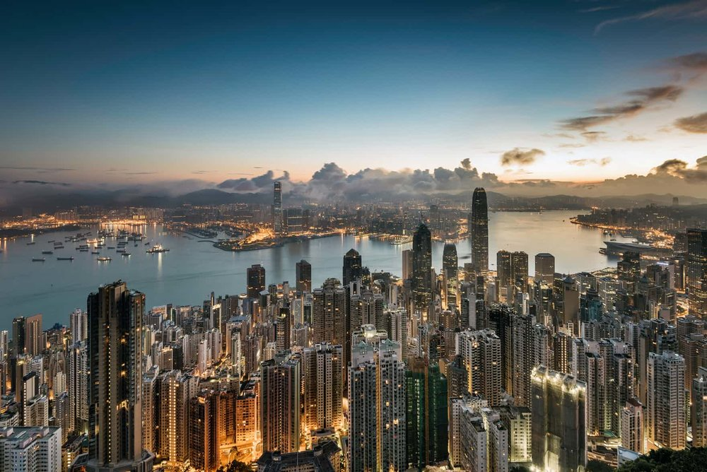 Hong Kong is the most unaffordable city for housing.Photograph: Martin Puddy/Getty Images