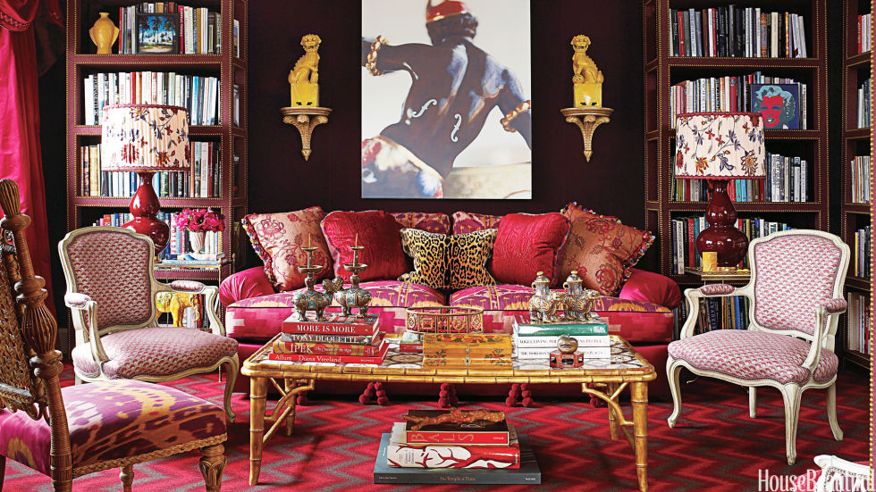 Living Room design by Alex Papchristidis. Image by Tria Giovan.  via