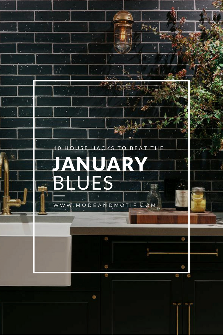 Step Into A Happy Home This January - Mode & Motif