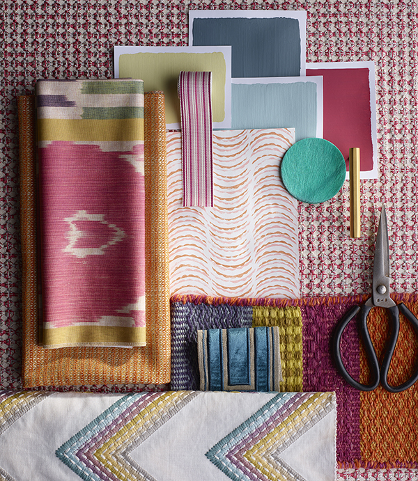 A joyful array of colours and textures showcasing endless possibilities in design (Image by  DCCH )