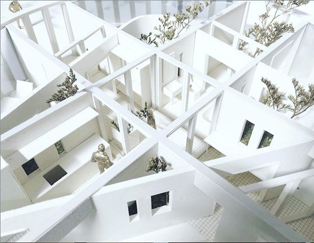 DIVIDE / DEFINE THIS SPACE | stumble upon this gem while researching on spatial strategies for the retreat. Fascinating design and it might just have given me some much needed inspiration. I only wish my model building skills has 10% of this level! Honestly I can stare at stunning architectural models all day... 📷@theopenworkshop Depth of Fields House, 2017-2020. Edersee, Germany. . . . . . . . . . . . . . . #waysoflife #architecture #theopenworkshop #architecturalmodels #livingamongnature #architecturedaily #architecture_view #architecturaldesign #presentationmodel #spatialdesign #spatialstrategies #interiordesign #interiordesignproject #designprocess #designresearch #interiordesignerlife #interiordesignofinstagram #interiordesignstudents #thursdaythoughts #designstrategies #interiordesigninspo #spatialdesign #interiordesignerslife #interiordesigngoals #interiordesignblogger #interiordesigninspiration #interiordesignlover #interiordesignskills