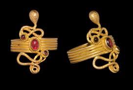 Roman garnet rings