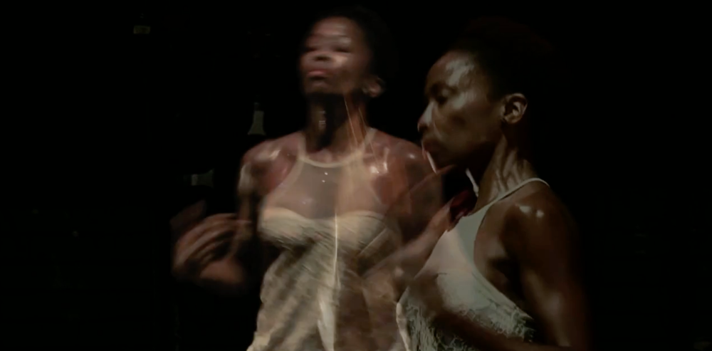 Spiral, choreographed and danced by Wanjiru Kamuyu (Paris, France).