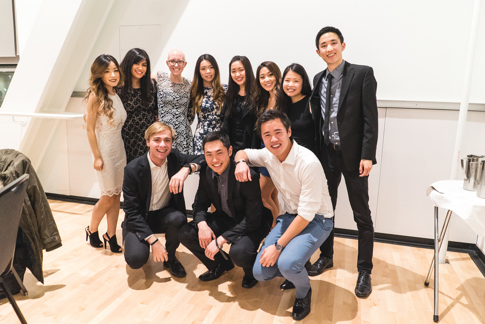 UBC BizTech Executives attending the CUS Gala. Many other executives are missing as they were busy hosting our closing event: the Networking Night, which was a huge success!