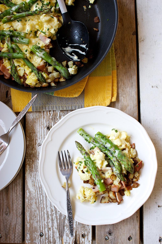 Eggs Benedict and Asparagus Breakfast Skillet 17.jpg