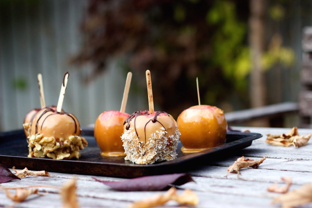 Healthy Caramel Apples