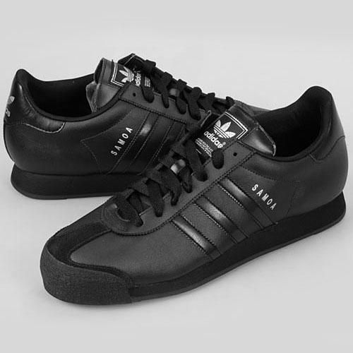 adidas black samoas