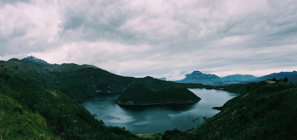 Lake Cuicocha, Imbabura, Ecuador