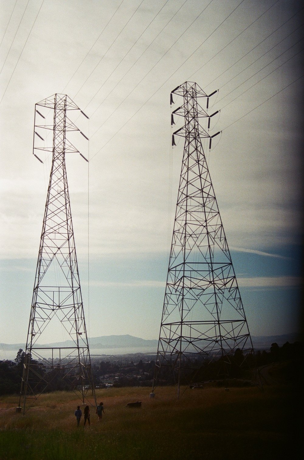 Powerlines, Oakland, CA, USA