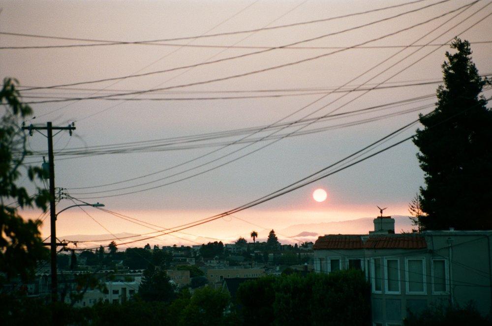 Sunset, Oakland, CA, USA