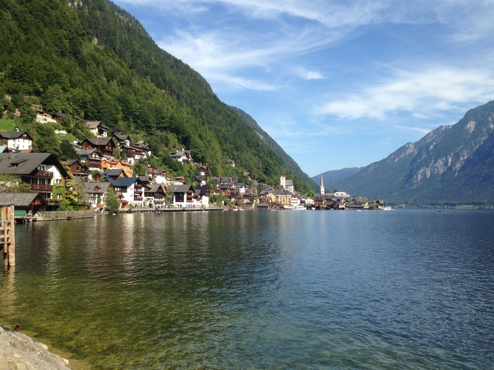 Hallstatt, the most photographed place in Austria. So I took a picture.