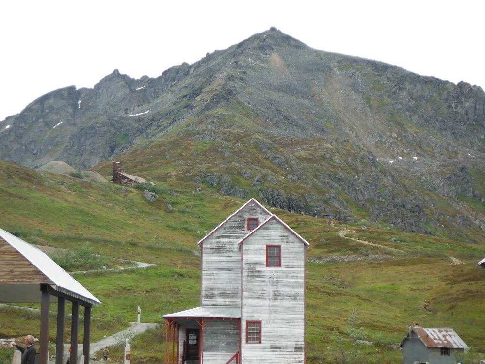 Independence Mine at Hatcher's Pass, Alaska.