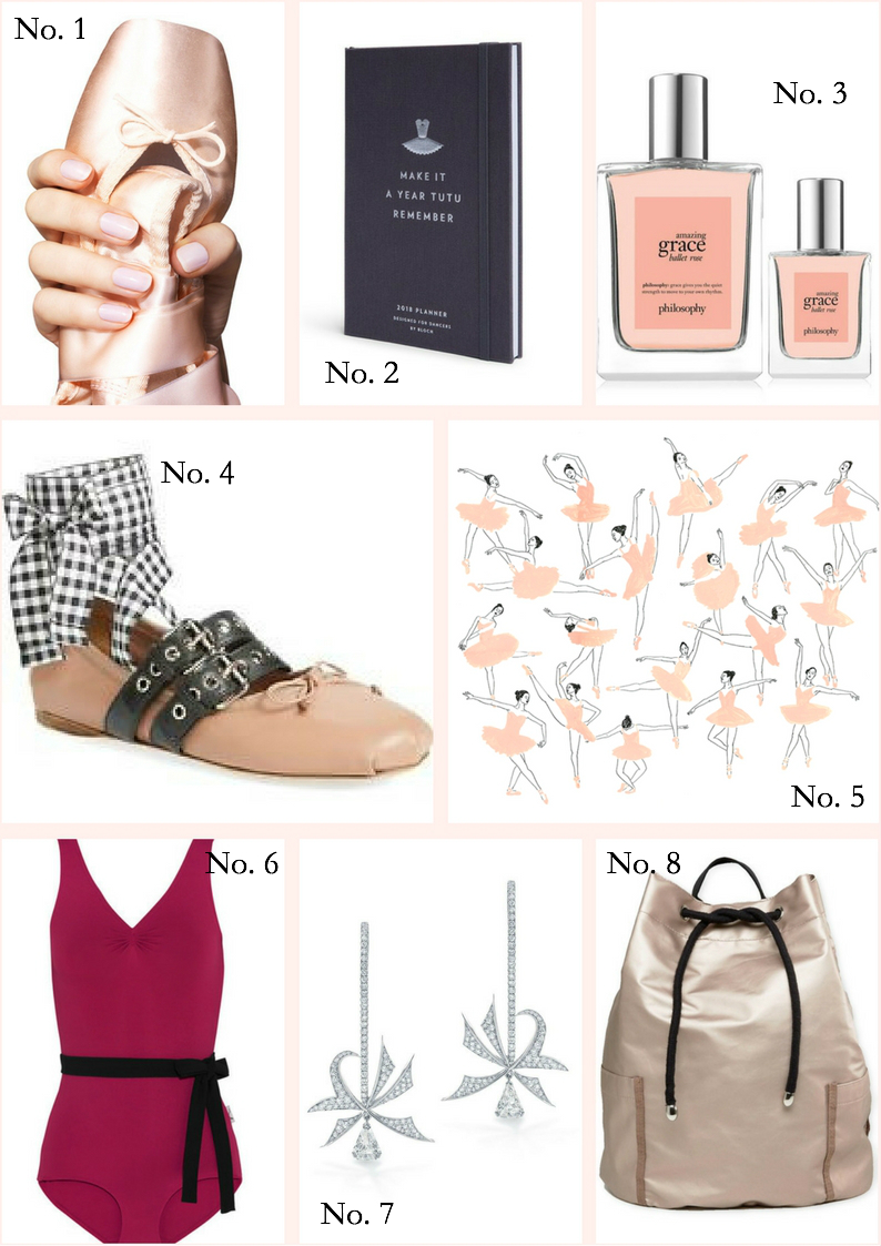 Gift guide for ballet, ballet dancer holiday presents