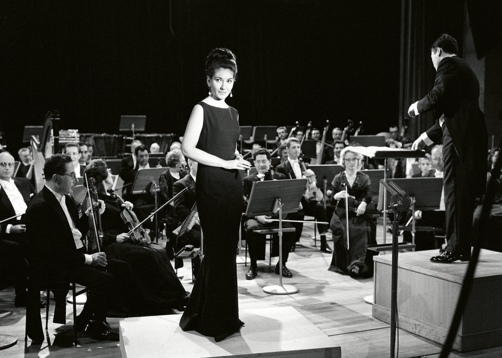 Les Grands Interprétes, Paris 1965 © Fonds de Dotation Maria Callas