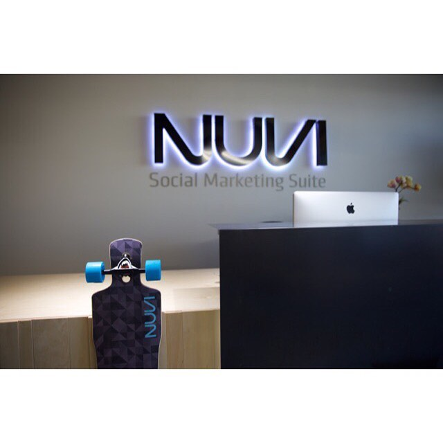 We delivered these for our friends at NUVI, they are a Social Medial Analytics company.