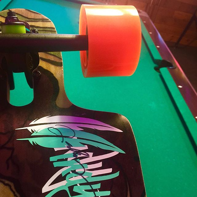 Pool Tables and Longboards.