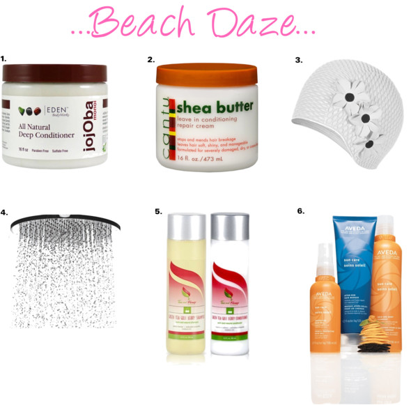 Beach Daze by wholly-hair featuring haircare