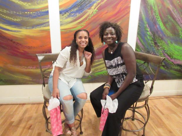 Monique and Cynthia
