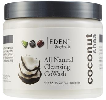EDEN BodyWorks All Natural Coconut Shea CoWash