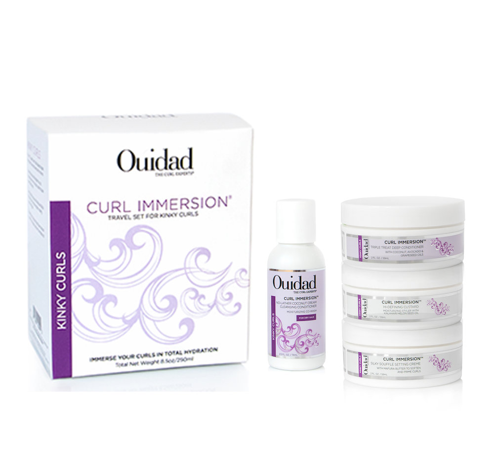 Curl Immersion Travel Set for Kinky Curls