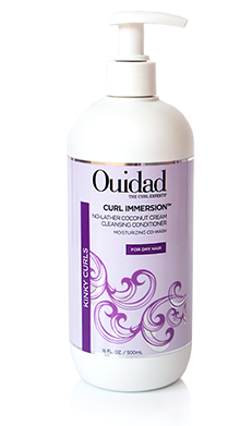 Curl Immersion No-Lather Coconut Cream Cleansing Conditioner