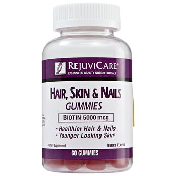 Hair Skin & Nail Gummies by Rejuvicare