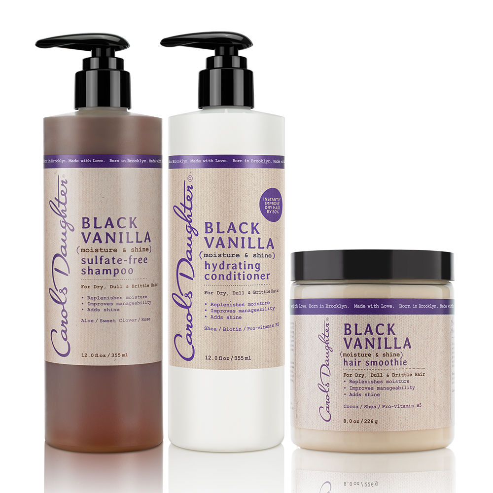 Black Vanilla Conditioning Hair Set