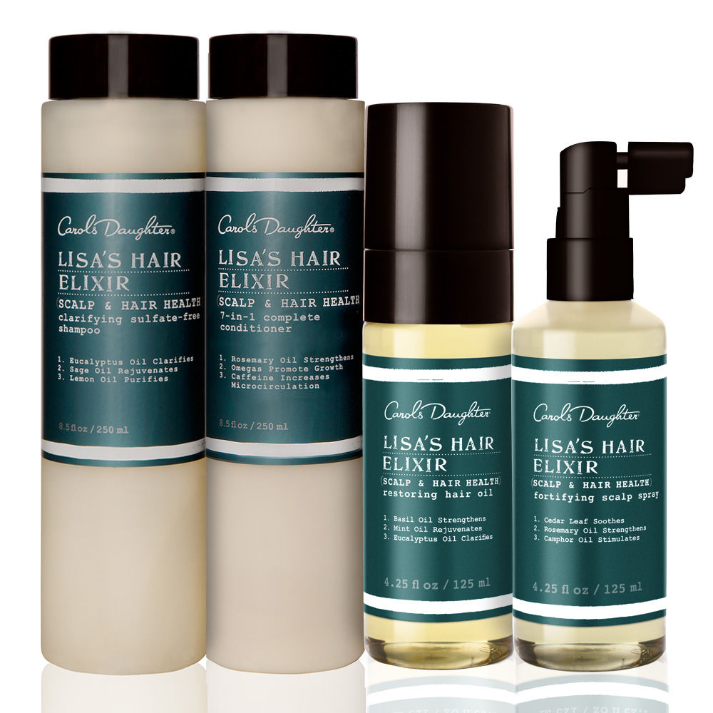Lisa's Hair Elixir Healthiest Hair Growth Set