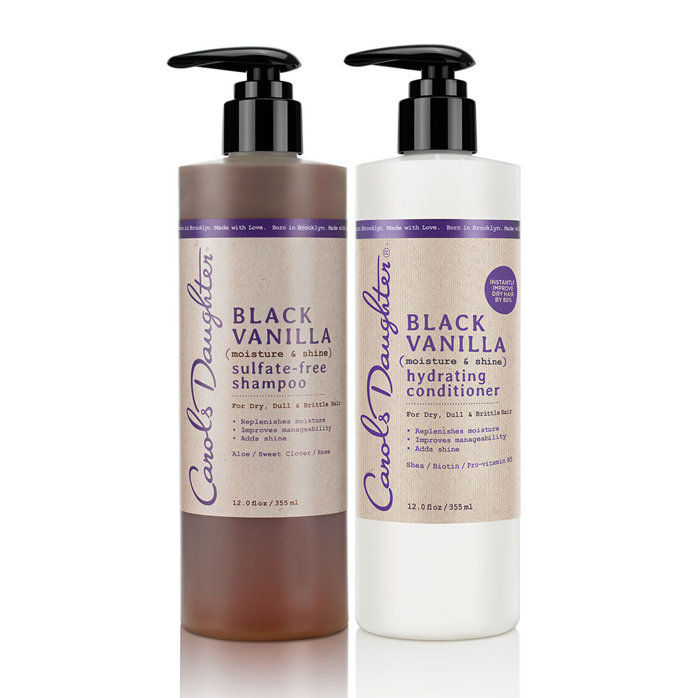 Black Vanilla Moisturizing Hair Duo