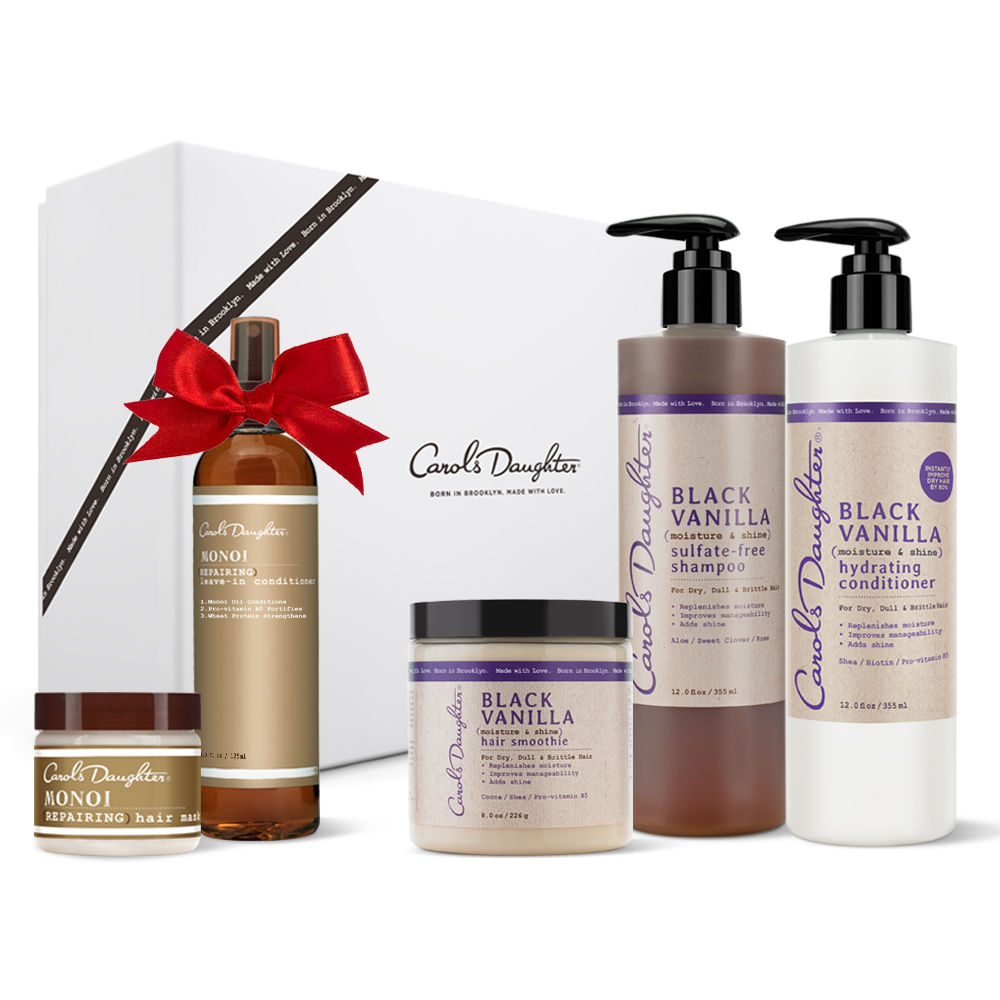 Black Vanilla Moisturizing Holiday Set + FREE GIFTS!