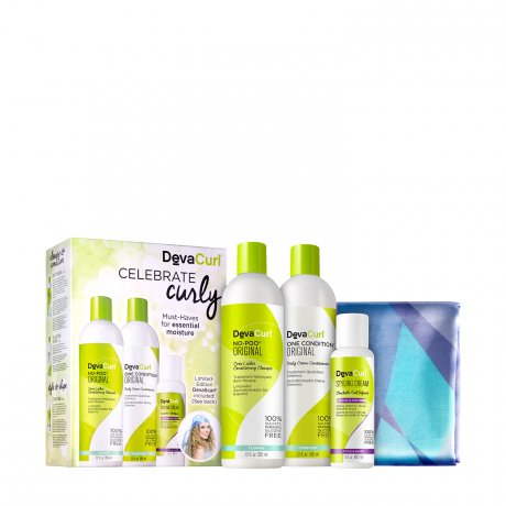 DevaCurl Celebrate Curly: Must-Haves for Essential Moisture