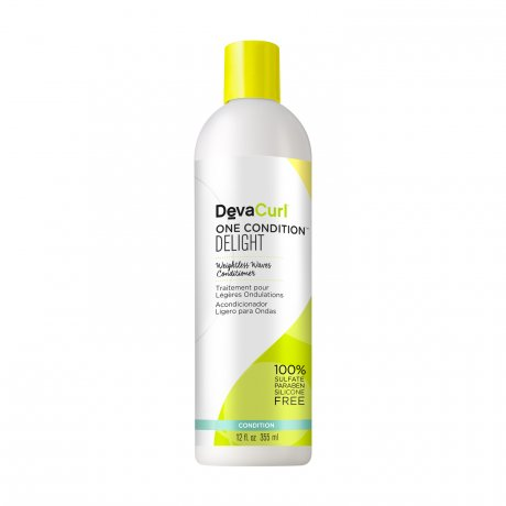 DevaCurl One Condition Delight Weightless Waves Conditioner - For Wavy/Curly Hair