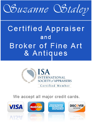 Suzanne Staley Certified Appraiser of Fine Art and Antiques