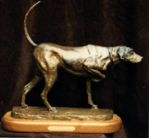 pointer dog_bronze_24x10.jpg